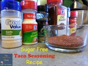 ugar Free Taco Seasoning Recipe