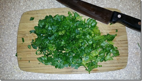 Parsley Chopped