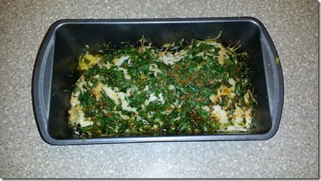 Cooked Parmesan Chicken and Parsley