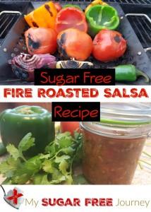 Sugar Free Fire Roasted Salsa Recipe!