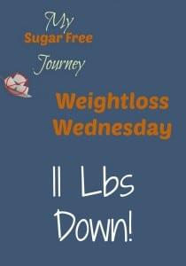 1/27 Weightloss Wednesday - 11 Lbs Down!