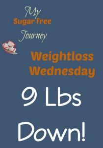 1/6 Weightloss Wednesday: 9 Lbs Down!