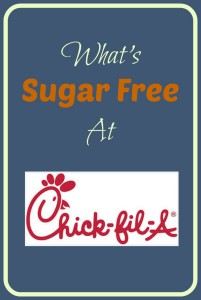 What's Sugar Free At Chick-Fil-A