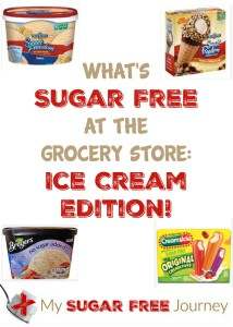 What's Sugar Free at the Grocery Store: Ice Cream Edition!