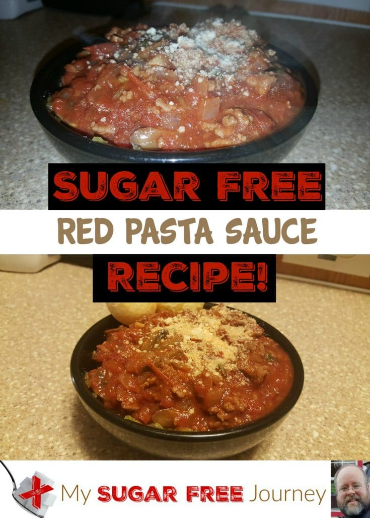 Sugar Free Red Pasta Sauce Recipe