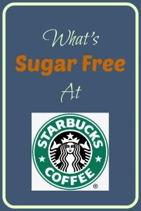 What's Sugar Free at Starbucks?