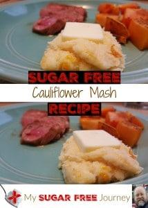 Cauliflower mash Pin