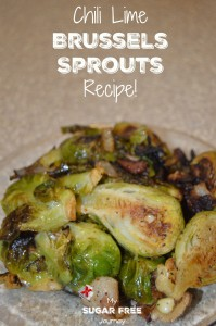 Chili Lime Brussels Sprouts Recipe!