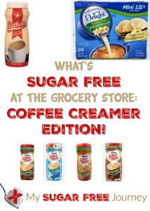 What's Sugar Free at the Grocery Store: Coffee Creamer Edition!
