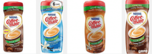 Sugar Free Coffee Mate Creamer