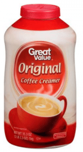 Great Value Creamer