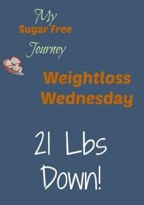 3/9 Weightloss Wednesday: 21 Lbs Down!
