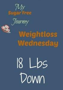 3/2 Weightloss Wednesday: 18 Lbs Down!