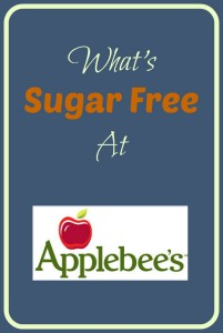 What's Sugar Free at Applebee's?