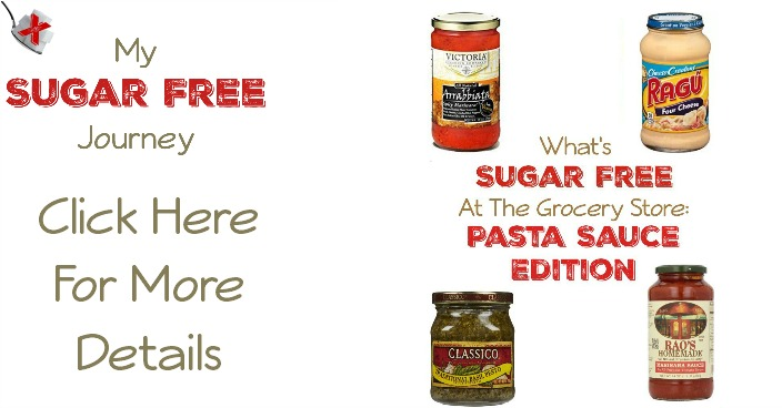 What's Sugar Free at the Grocery Store: Pasta Sauce Edition