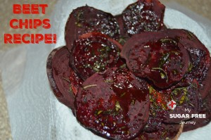 Sugar Free Recipe: How to Make Beet Chips!