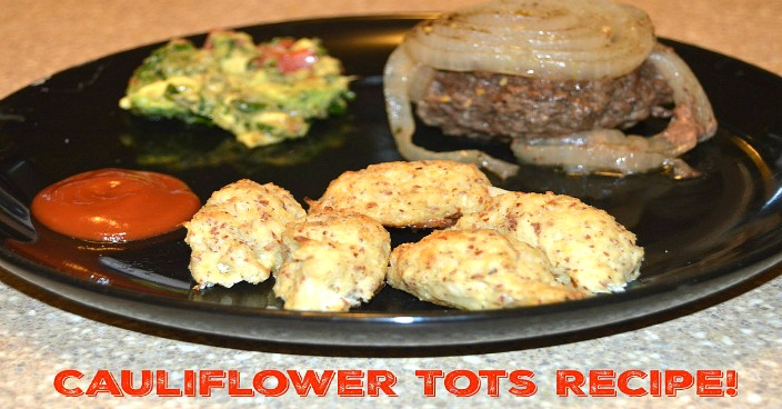 Low Carb Cauliflower Tots Recipe!