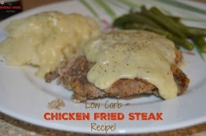 Low Carb Chicken Fried Steak Recipe!