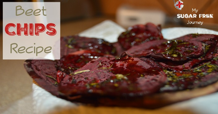 Sugar Free Recipe: How to Make Beet Chips!