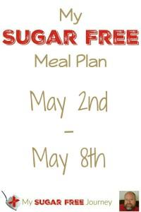 My Sugar Free Meal Plan: May 2nd - May 8th