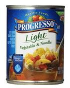 Progresso Light Vegetable and Noodle