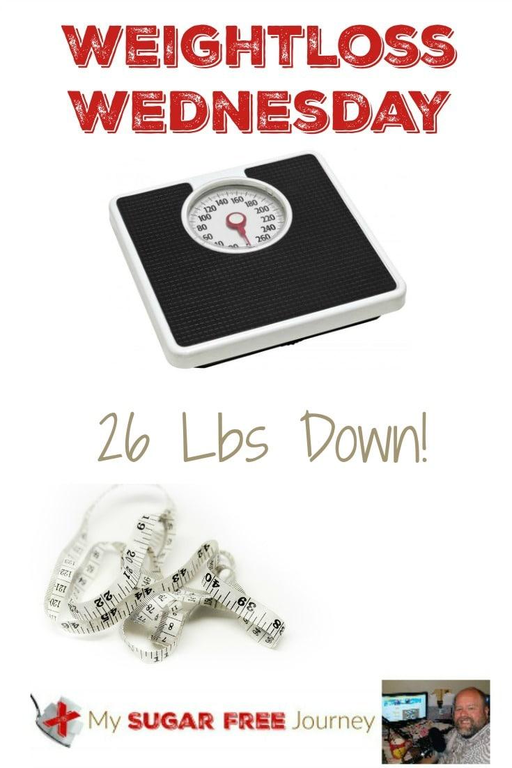 4/13 Weightloss Wednesday: 26 Lbs Down!