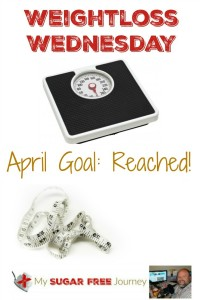 4/27 Weightloss Wednesday: April Goals Reached!