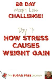 Day 7: How Stress Causes Weight Gain