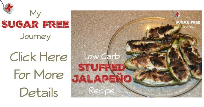 Low Carb Stuffed Jalapenos Recipe!