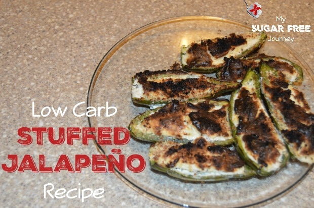 Low Carb Stuffed Jalapenos