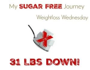 5/4 Weightloss Wednesday: 31 Lbs Down!