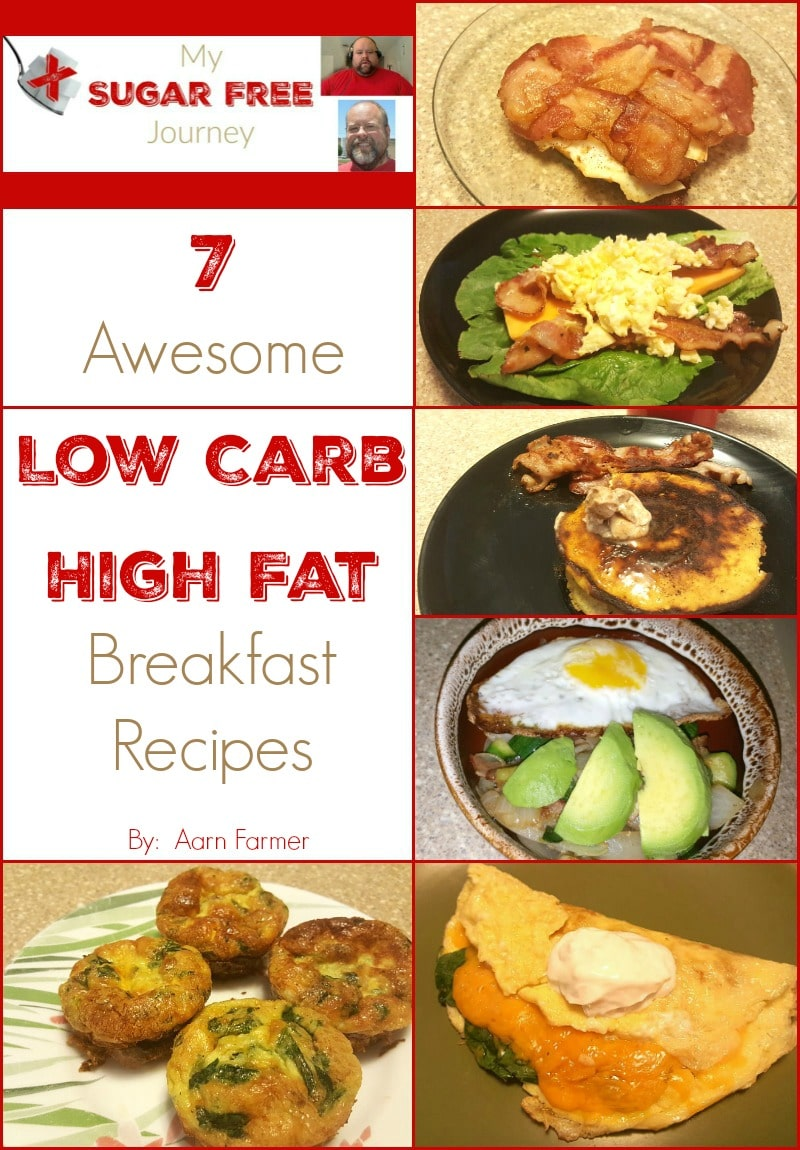 7 Awesome Low Carb High Fat Breakfast Recipes