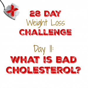 Day 11: What is Bad Cholesterol?