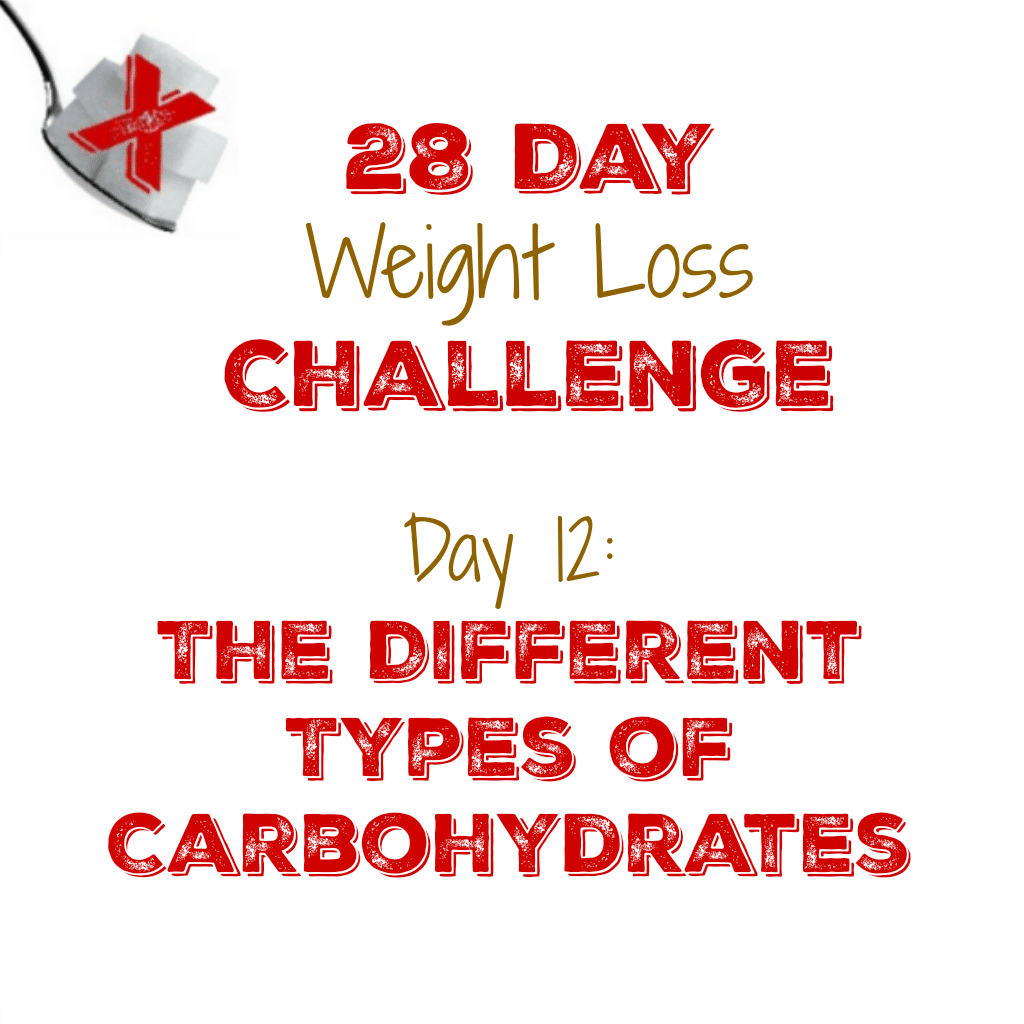 Day 12: The Different Types of Carbohydrates – My Sugar Free Journey