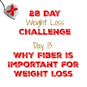 Day 13: Why Fiber is Important for Weight Loss