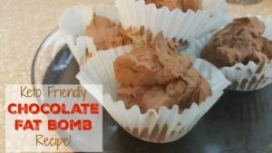 Keto Friendly Chocolate Fat Bomb Recipe