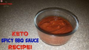 Keto Spicy BBQ Sauce Recipe!