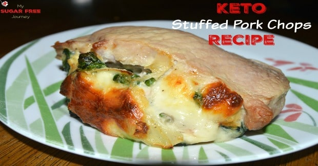 Keto Stuffed Pork Chops Recipe