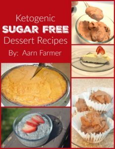 The Ketogenic Sugar Free Dessert Recipes Ebook is Now On Sale!