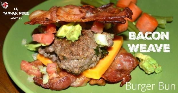 Bacon Weave Hamburger Bun Recipe