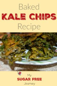 A Light and Crispy Baked Kale Chips Recipe.  Easy to Make and is a Great Side Dish or Snack!