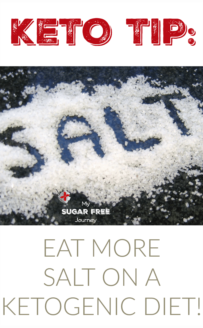 You've been told all of your life to eat LESS salt. Well, if you're on a Ketogenic Diet the opposite is true and here's why.