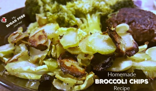 Want a great way to use those long Broccoli stalks to make a tasty side dish? Try this Broccoli Chips recipe!