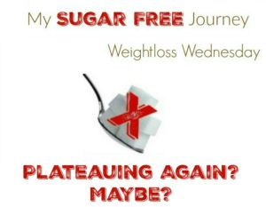 10/5 Weightloss Wednesday: Plateauing Again? Maybe?