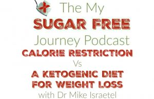 The My Sugar Free Journey Podcast - Episode 18: Calorie Restriction Vs Ketogenic Diet with Dr Mike Israetel