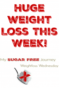 11/16 Weightloss Wednesday: Huge Weight Loss This Week!