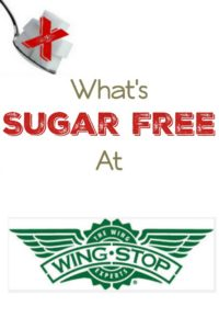 What Is Sugar Free at Wing Stop?