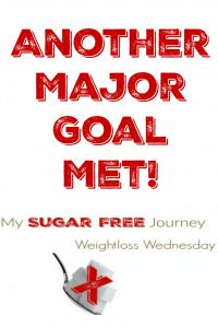 12/7 Weightloss Wednesday: Another Major Goal Met!