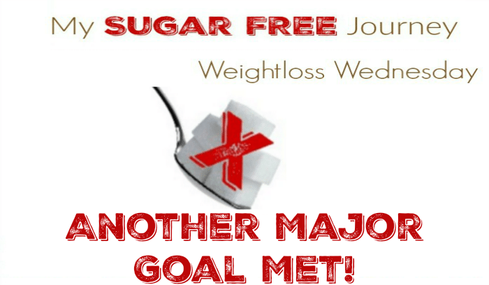 12/7 Weightloss Wednesday: Another Major Goal Met!