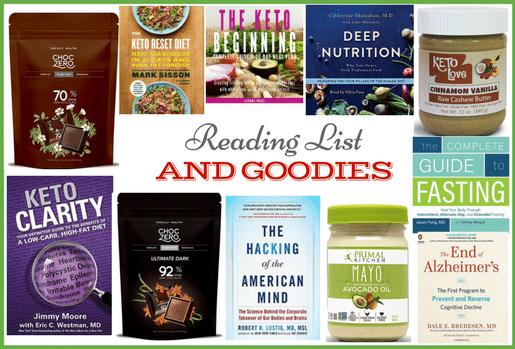 My Sugar FREE Reading List & More Goodies!